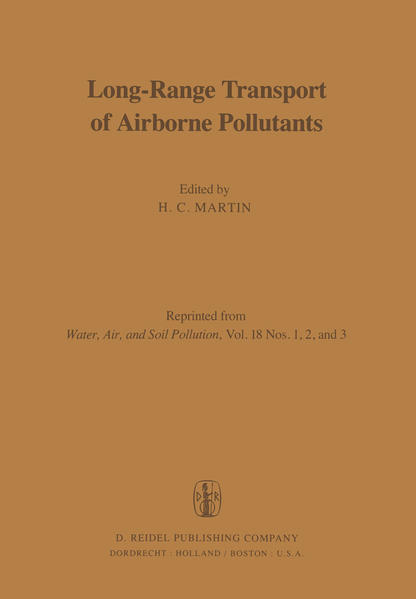 Long-Range Transport of Airborne Pollutants - Coverbild