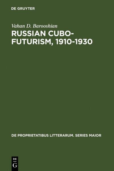 Russian Cubo-Futurism, 1910-1930 - Coverbild