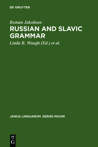Russian and Slavic Grammar - Coverbild
