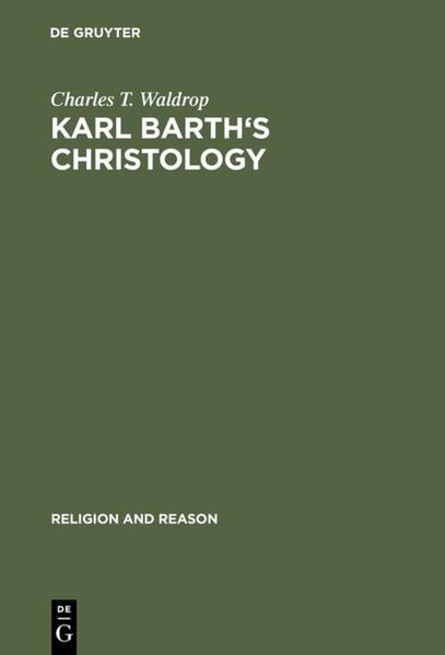 Karl Barth's Christology - Coverbild