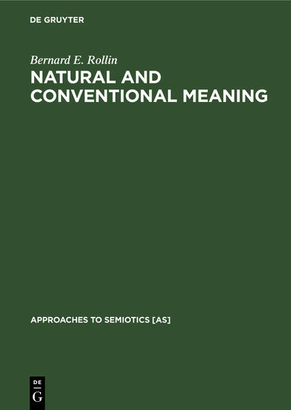 Natural and Conventional Meaning - Coverbild
