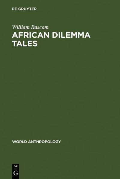 African Dilemma Tales - Coverbild