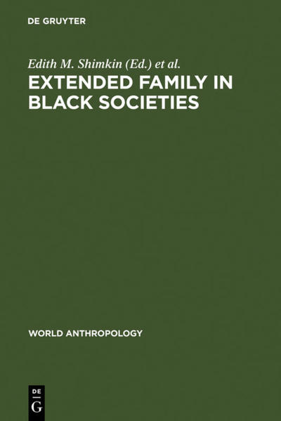 Extended Family in Black Societies - Coverbild
