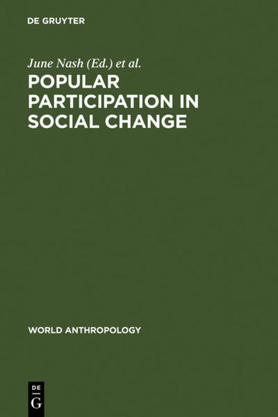 Popular Participation in Social Change - Coverbild