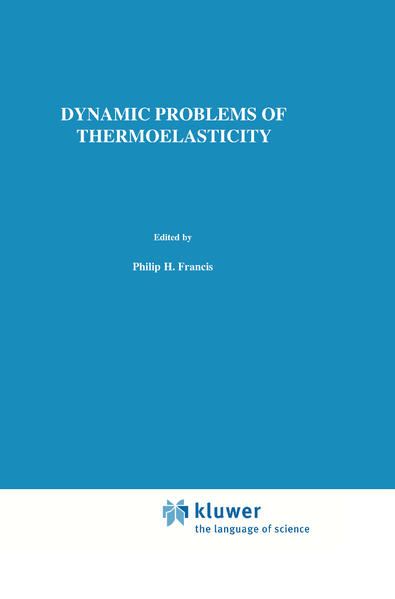 Dynamic Problems of Thermoelasticity - Coverbild