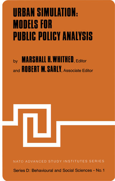 Urban Simulation: Models for Public Policy Analysis - Coverbild