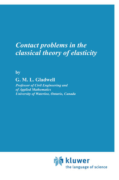 Contact Problems in the Classical Theory of Elasticity - Coverbild
