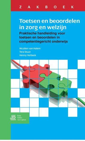 Zakboek Toetsen en beoordelen in zorg en welzijn - Coverbild