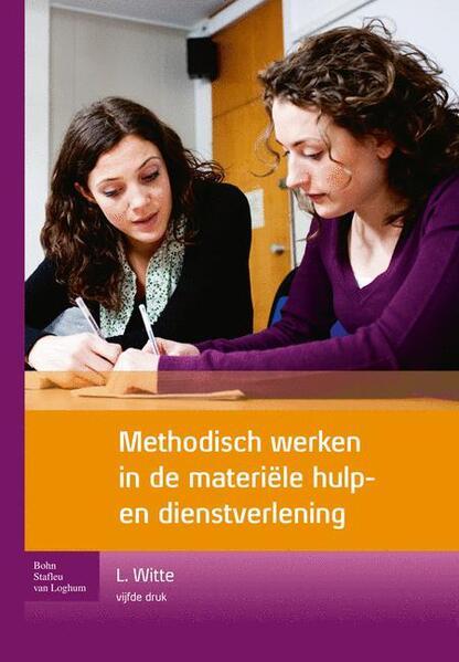 Methodisch werken in de materiële hulp- en dienstverlening - Coverbild