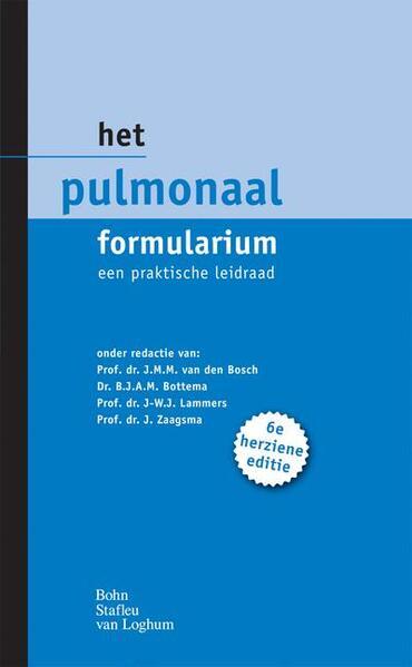 Het pulmonaal formularium - Coverbild