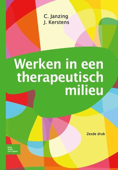 Werken in een therapeutisch milieu - Coverbild