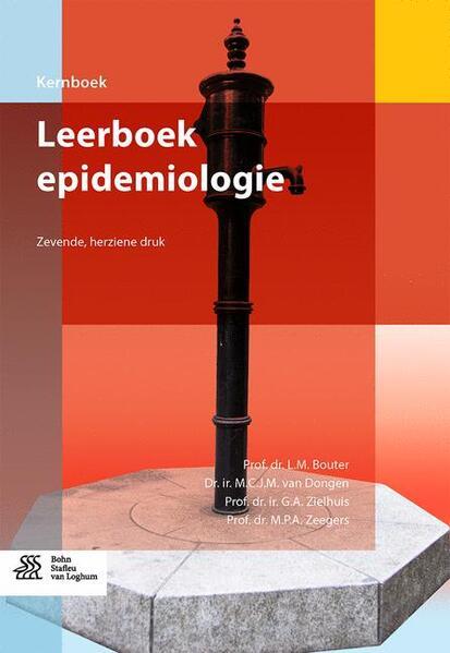 Leerboek epidemiologie - Coverbild