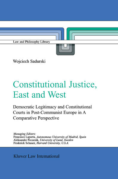 Constitutional Justice, East and West - Coverbild