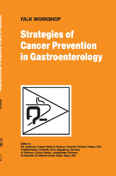 Strategies of Cancer Prevention in Gastroenterology - Coverbild