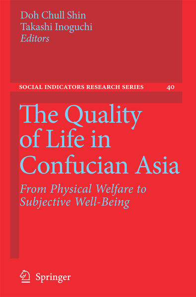 The Quality of Life in Confucian Asia - Coverbild