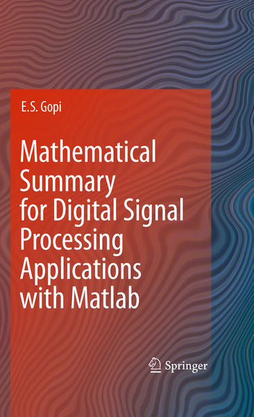 Mathematical Summary for Digital Signal Processing Applications with Matlab - Coverbild