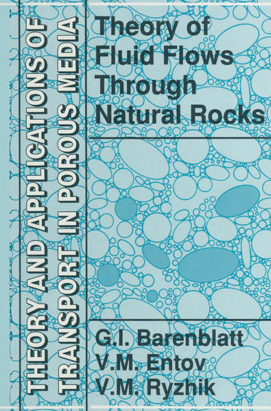 Theory of Fluid Flows Through Natural Rocks - Coverbild