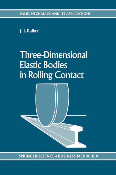 Three-Dimensional Elastic Bodies in Rolling Contact - Coverbild