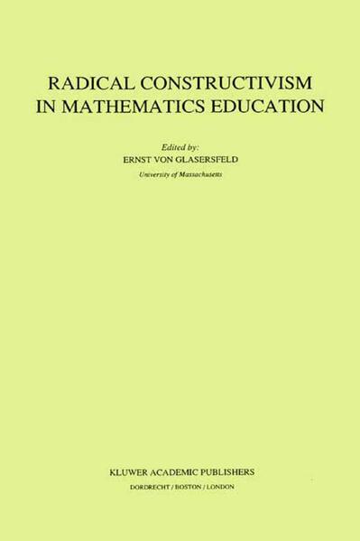 Radical Constructivism in Mathematics Education - Coverbild
