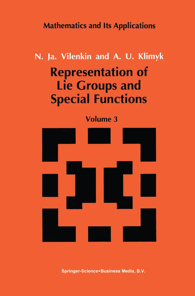 Representation of Lie Groups and Special Functions - Coverbild
