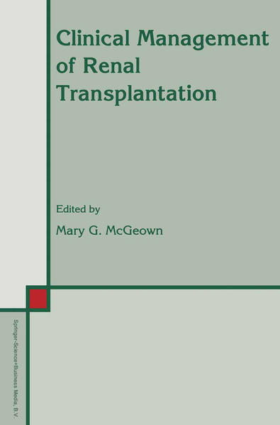 Clinical Management of Renal Transplantation - Coverbild