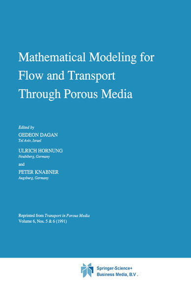 Mathematical Modeling for Flow and Transport Through Porous Media - Coverbild