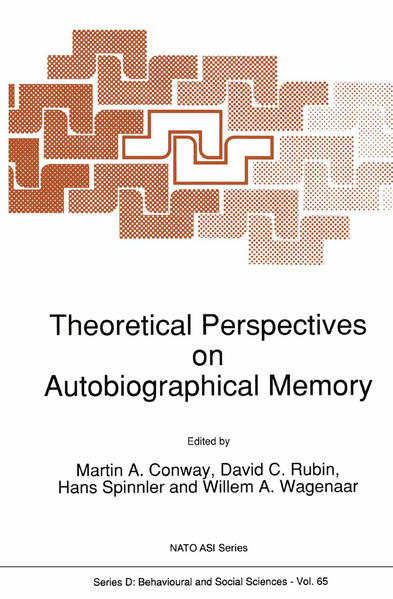 Theoretical Perspectives on Autobiographical Memory - Coverbild