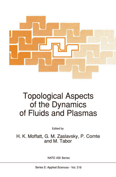 Topological Aspects of the Dynamics of Fluids and Plasmas - Coverbild