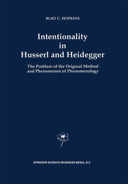 Intentionality in Husserl and Heidegger - Coverbild