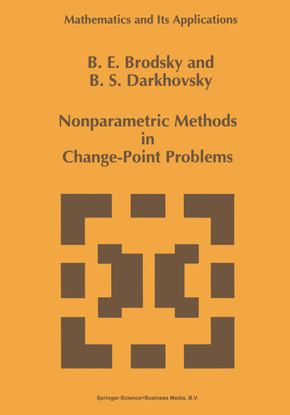 Nonparametric Methods in Change Point Problems - Coverbild