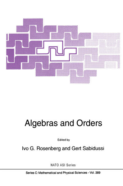 Algebras and Orders - Coverbild