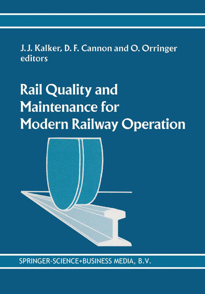 Rail Quality and Maintenance for Modern Railway Operation - Coverbild