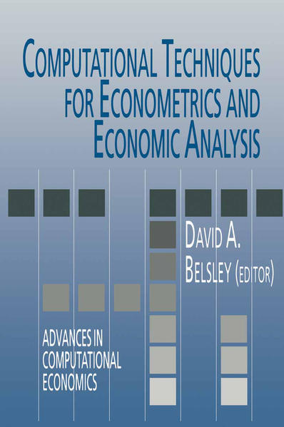Computational Techniques for Econometrics and Economic Analysis - Coverbild