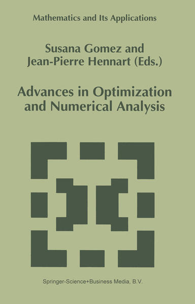 Advances in Optimization and Numerical Analysis - Coverbild