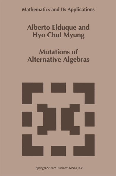 Mutations of Alternative Algebras - Coverbild