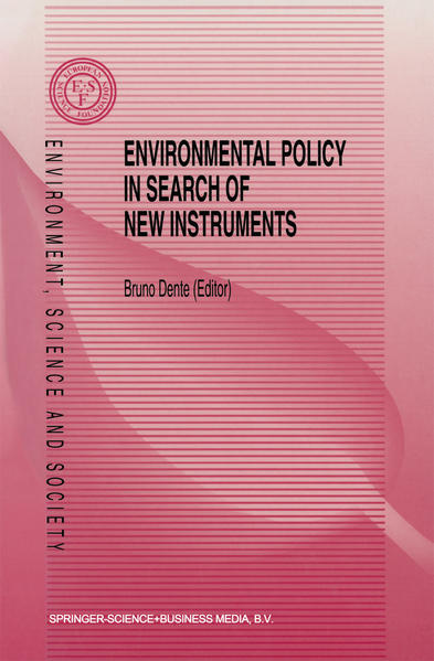 Environmental Policy in Search of New Instruments - Coverbild