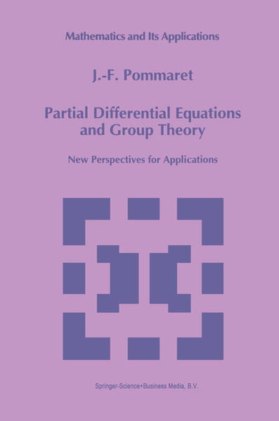 Partial Differential Equations and Group Theory - Coverbild