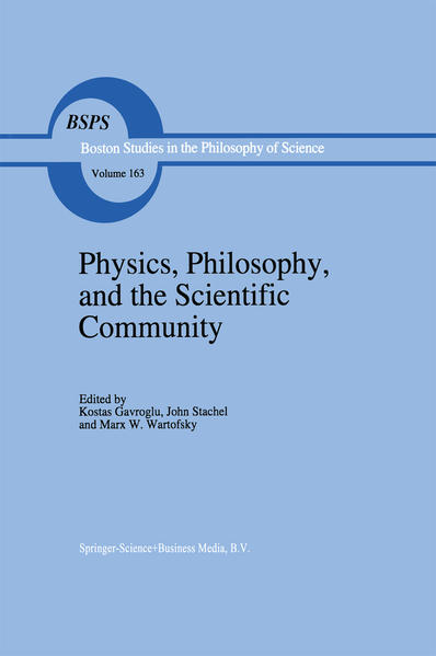 Physics, Philosophy, and the Scientific Community - Coverbild