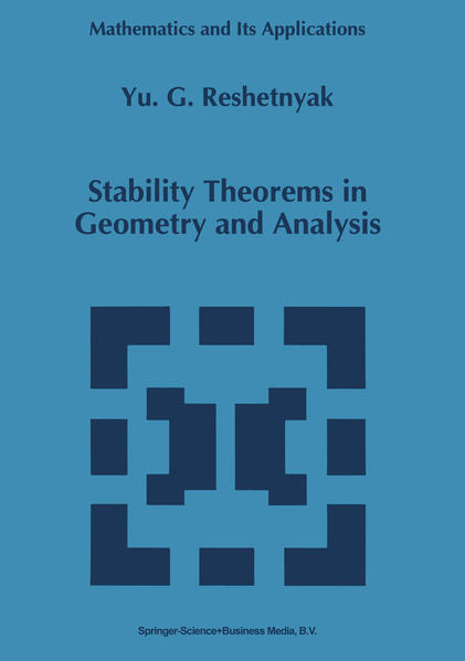 Stability Theorems in Geometry and Analysis - Coverbild