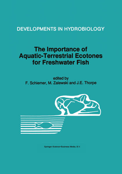 The Importance of Aquatic-Terrestrial Ecotones for Freshwater Fish - Coverbild