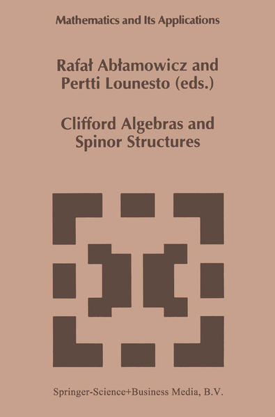 Clifford Algebras and Spinor Structures - Coverbild