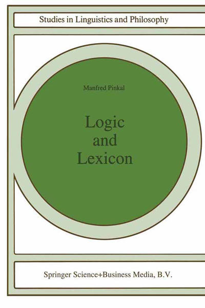 Logic and Lexicon - Coverbild