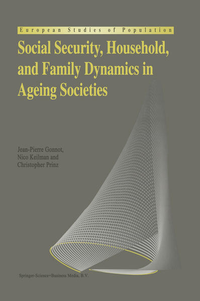 Social Security, Household, and Family Dynamics in Ageing Societies - Coverbild