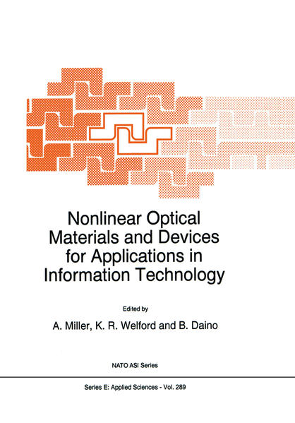 Nonlinear Optical Materials and Devices for Applications in Information Technology - Coverbild