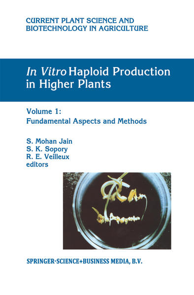 In Vitro Haploid Production in Higher Plants - Coverbild