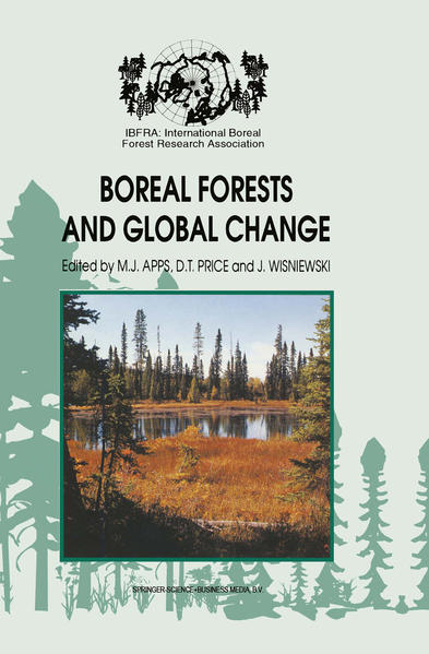 Boreal Forests and Global Change - Coverbild