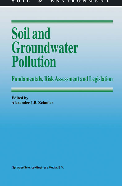 Soil and Groundwater Pollution - Coverbild