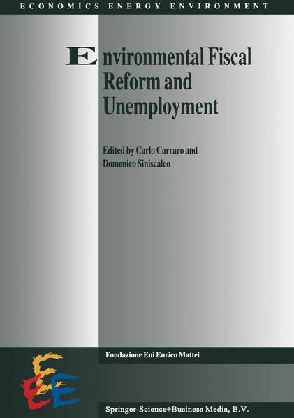 Environmental Fiscal Reform and Unemployment - Coverbild
