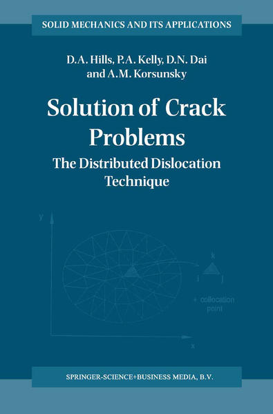Solution of Crack Problems - Coverbild