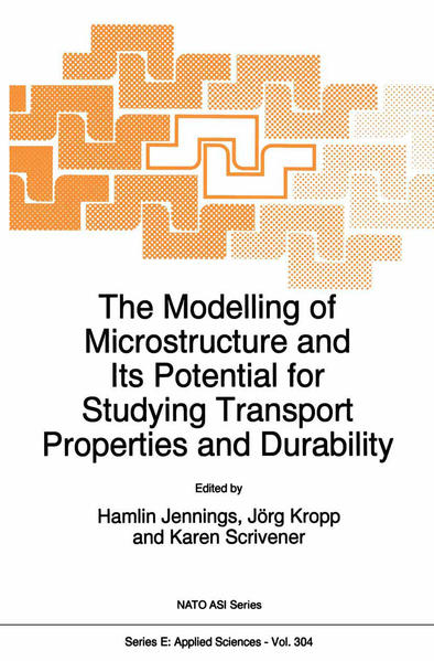 The Modelling of Microstructure and its Potential for Studying Transport Properties and Durability - Coverbild